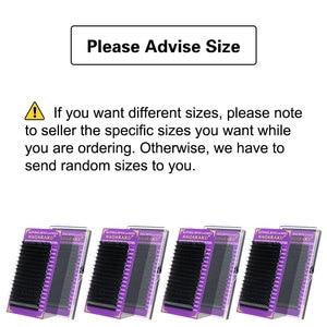 Image 2 - NAGARAKU искусственные норковые ресницы для макияжа 20 чехлов/партия Индивидуальные ресницы премиум норковые Высококачественные мягкие натуральные накладные ресницы