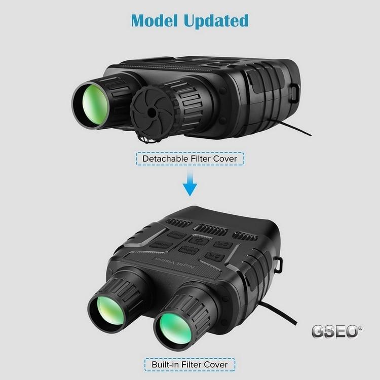 Night Vision Binoculars With Telescope Zoom and 2.3'' Screen 2