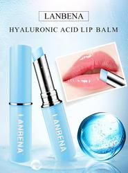 LANBENA Hyaluronic Acid Lip Balm Lip Plumper Lips Moisturizing Reduce Fine Lines Relieve Dryness Protection Lip