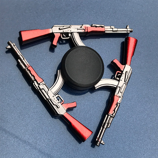 Metal Ninja Fidget Spinner Mobile Phone Game Series Finger Spinner Relief Stress Toys Hobbies for Adult Office Spinner Toy