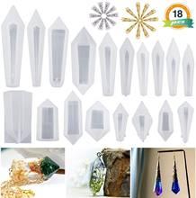 Формы для подвесок из смолы гибкая силиконовая форма кристаллов