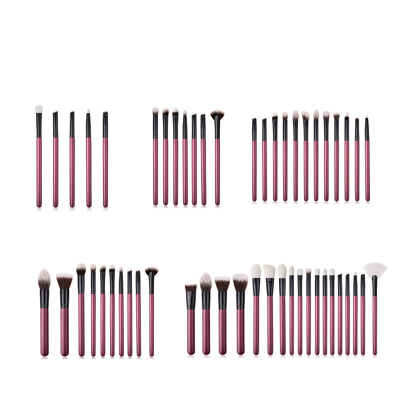 18/5PCS Makeup Brushes Premium Nylon Material Concealers Foundation Powder Eye Shadows Makeup Brushes Set Tool