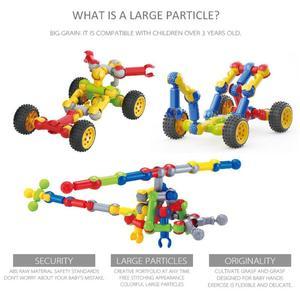 Kids Multifunctional Skeleton Building Blocks Joints Sticks DIY And Toy Set Stick Combination Educational Children's Game