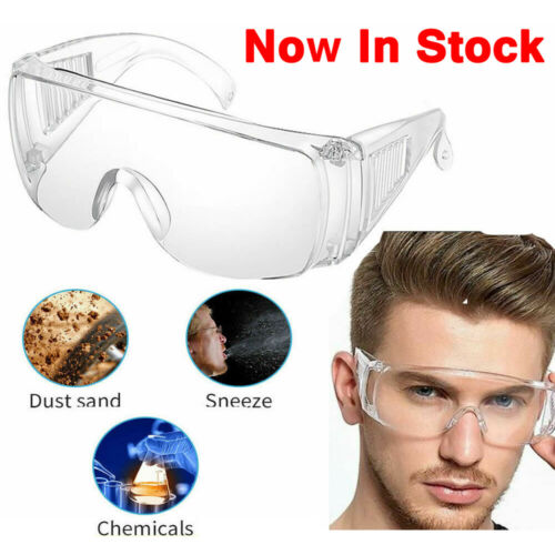 Anti Fog Dust Splash-proof Glasses Work Eye Protection Fully Sealed Laboratory Accessory Splash Proof Translucent Clear Goggle