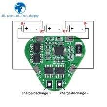 3S 12V 18650 płyta zabezpieczająca baterię litową 11.1V 12.6V przeładowanie nadmierne rozładowanie chroń 8A 3-ogniwowy pakiet Li-ion BMS PCM PCB