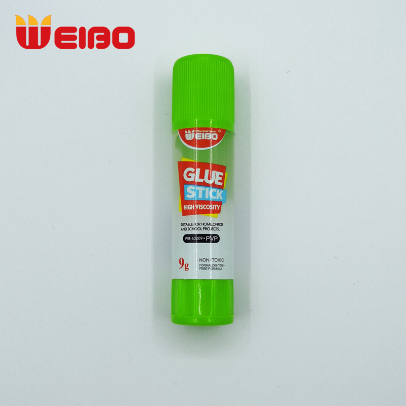 WEIBO 9g Transparent Solid Glue High Viscosity Solid Glue Stick For Adhesive Home Art Paper Card Photo Glue Stick Stationery 1PC