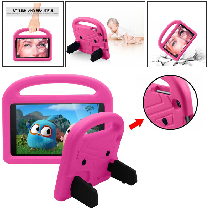 Foam EVA Protect Case for <font><b>Samsung</b></font> Galaxy Tab A 8.0 SM-<font><b>P205</b></font> P200 2019 Tablet Case Children Kid Safe Shockproof Stand Handle Cover image