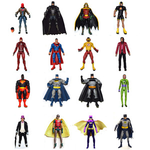 DC Universe Multiverse Batman Superman Red Hood Robin Penguin Riddler Joker Flash Action Figure Loose Collection Hot Sales