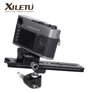 Image 3 - XILETU LCB 24B Track Dolly Slider Focusing Focus Rail Slider & Clamp and QR Plate Meet Arca Swiss For DSLR Camera Canon