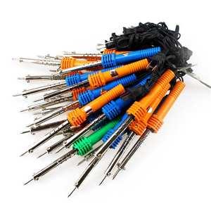 Mini Handle Adjustable Temperature Electric Soldering Welding Welding Tools Repair Station Pencil Iron Solder Heat H7F2
