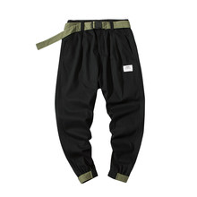 PYROTECHNIC&CO Trousers Men's New Spring and Autumn 2019 Overalls Fashion Leisure Sports Pants DS475#(China)