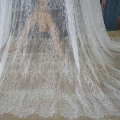 Off white hochzeit spitze Dünne und weiche wimpern spitze stoff 1,5 x3 meter/stück nähen für frauen kleider NEUE