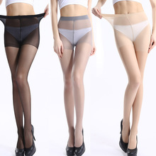 10pcs Women Tear-resistant Pantyhose Sexy Nylon Tights Anti Hook Thin Black nude High elasticity Stockings Breathable  wholesale
