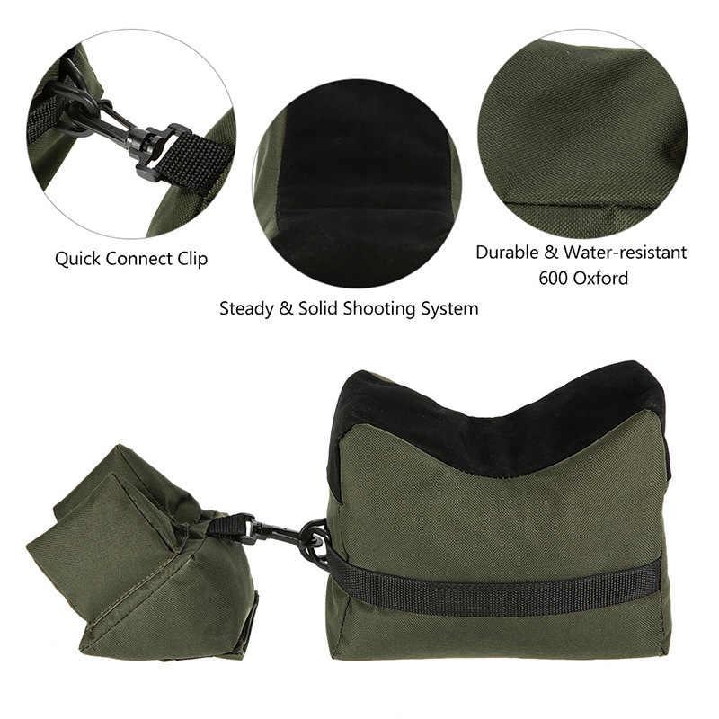 Rifle Ondersteuning Bench Sniper Schieten Zandzak Gun Voor Achter Tas Stand Ongevulde Outdoor Tack Driver Hunting Rifle Rest