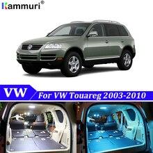 22 шт. белые светодиодные с CANBUS салона комплект ламп для Volkswagen VW Touareg 7L 7LA 7L6 7L7 светодиодный внутренний светильник комплект
