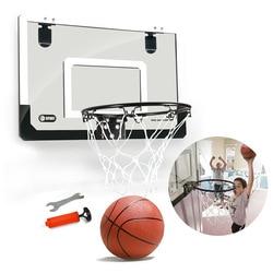 Hanging Gantry Basketball Board Hole Punched Transparent Hanging Mini Small Backboard Mini Basketball Hoop