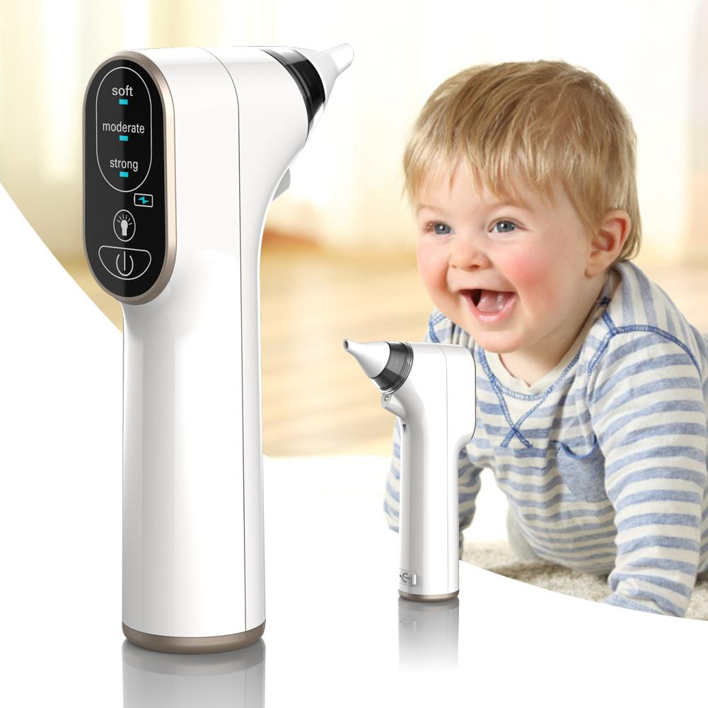 Baby Electric Nasal Aspirator Nasal Suction Machine USB Rechargeable 2018