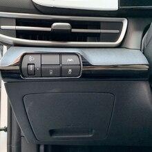 Przełącznik reflektorów ze stali nierdzewnej pozycja ozdobna ramka do akcesoriów samochodowych Elantra 2021