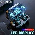 Беспроводные наушники Bluetooth 5 0 TWS  беспроводные Bluetooth наушники  светодиодный спортивный водонепроницаемый наушники с микрофоном  гарнитура ...