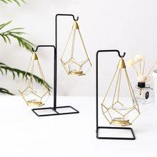 Criativo nordic luz luxo suporte de vela centros de mesa para boda castiçal jantar adereços ornamentos europeus castiçal