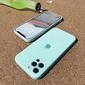 Оригинальный чехол для телефона ASM Square из жидкого силикона для iPhone 12 11 Pro Max Mini XR XS X 8 7 Plus SE 2020 Мягкий противоударный Тонкий чехол