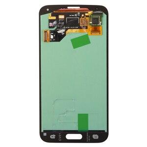 Image 4 - オリジナルスーパー amoled 5.1 サムスンギャラクシー S5 lcd タッチスクリーン S5 i9600 G900 G900F G900M G900H SM G900F