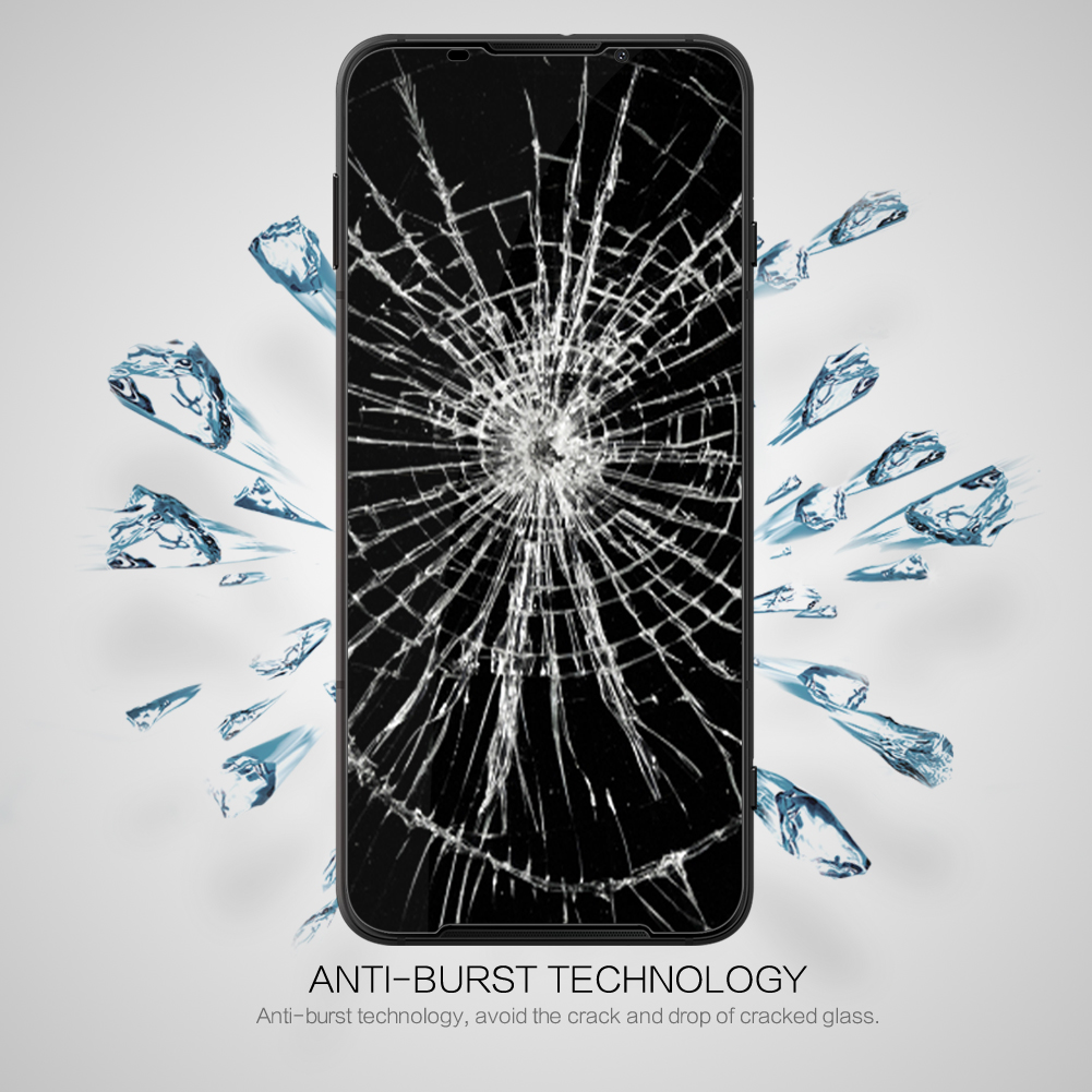 Xiaomi Black Shark 3 Glass Nillkin Anti-Explosion CP+ Screen Protector Full Glue Tempered Glass For Xiaomi Black Shark 3 Pro
