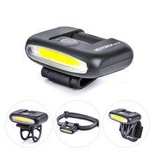 170 Lumens ĐÈN LED Đa Chức Năng Ánh Sáng Nhẹ USB Nhỏ Gọn Đèn Pin sạc cho Nón Ánh Sáng Đèn Pha Xe Đạp