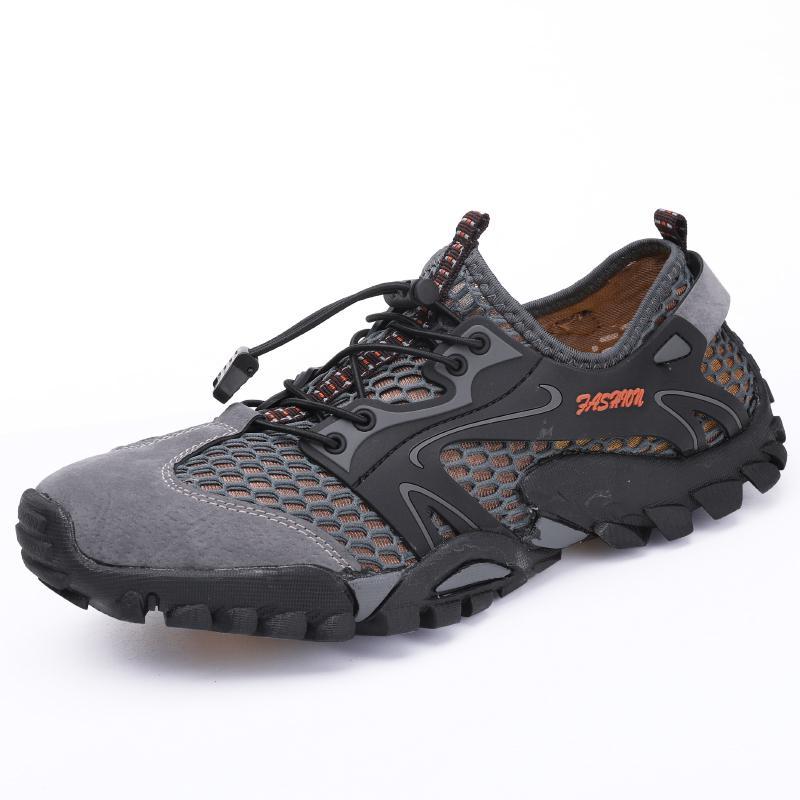 2019 Men casual Sneakers Breathable Hiking Shoes Big Size Men  Outdoor Hiking Sandals Men Trekking Trail Water Wading Sandals zapatillas de moda 2019 hombre