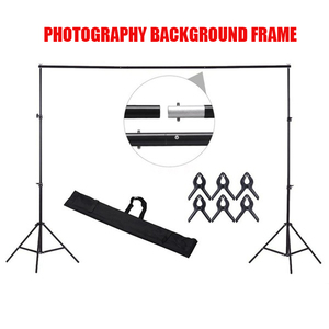 200x200cm Background Photography Support Stand Accessories Aluminum Photo Studio Photophone Canvas Muslim Backdrops Tripod