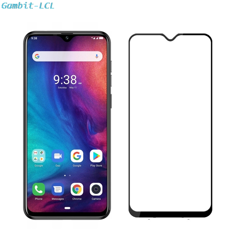 """2PCS For Cubot P30 6.3"""" Glass Screen Protector case Full Cover Tempered Glass Protective 9H 2.5D Glass Film(China)"""