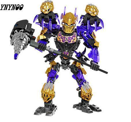 Biochemical Warrior Bionicle Ekimu the Mask Maker Unisex Building Block Toys