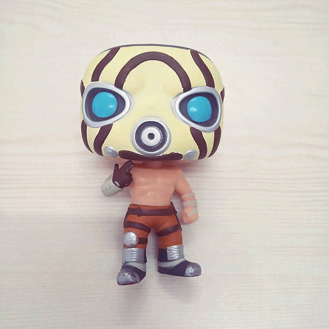 <font><b>Borderlands</b></font> Psycho #45 Game Model Character Vinyl Doll Action Figure Collection Gifts Toy Finished Goods No Box Loose image