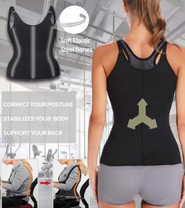 Image 5 - נשים Neoprene Shaperwear מותן Traine לדחוף את אפוד בטן בטן מחוך גוף Shaper מותן Cincher מחוך Faja חגורת הרזיה