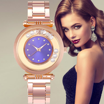 2020 Hot Fashion Luxury Brand Round Crystal Women Bracelet Watch Rose Gold Quartz Wristwatches Ladies Dress Watches Reloj Mujer 2020 new brand qingxiya bracelet watches women luxury crystal dress wristwatches clock women s fashion casual quartz watch reloj