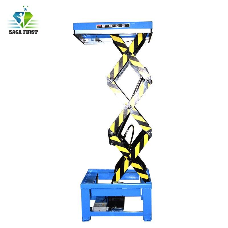 1.5m,2.5m,2.4m,3m Scissor Lift For Warehouse Use