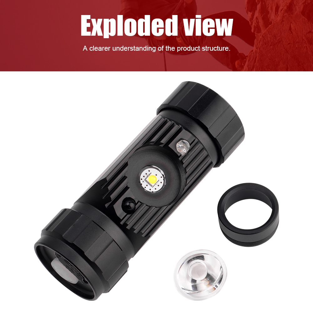 BORUiT RJ-020 XPE LED Induction Headlamp 1000LM Motion Sensor Headlight 18650 Rechargeable Head Torch Camping Hunting Flashlight 3