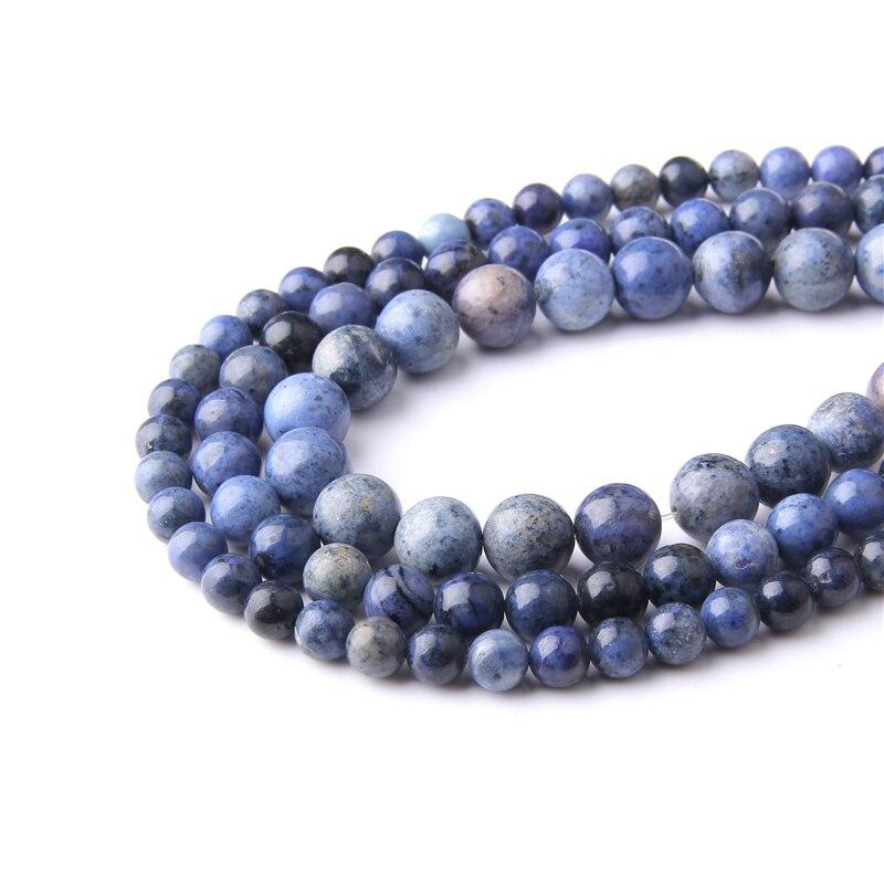 À faire soi-même 4//6//8//10//12mm pierre naturelle Arbre veines perles rondes FIT YOGA Bracelet
