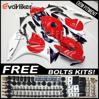 Custom fairing motorcycle bodywork kit for CBR1000RR 2012-2016 ABS motorcycle panels Injection mold red white+Gifts