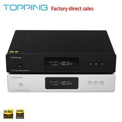Topping D70 2 * AK4497 USB DAC DSD512 32bit / 768 kHZ AK4118 USB DAC XMOS Desktop Decoder Support USB / Optical / Coaxial / ISS