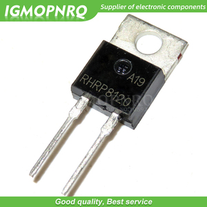 10PCS RHRP8120 8A 1200V TO-220 fast recovery diode new original