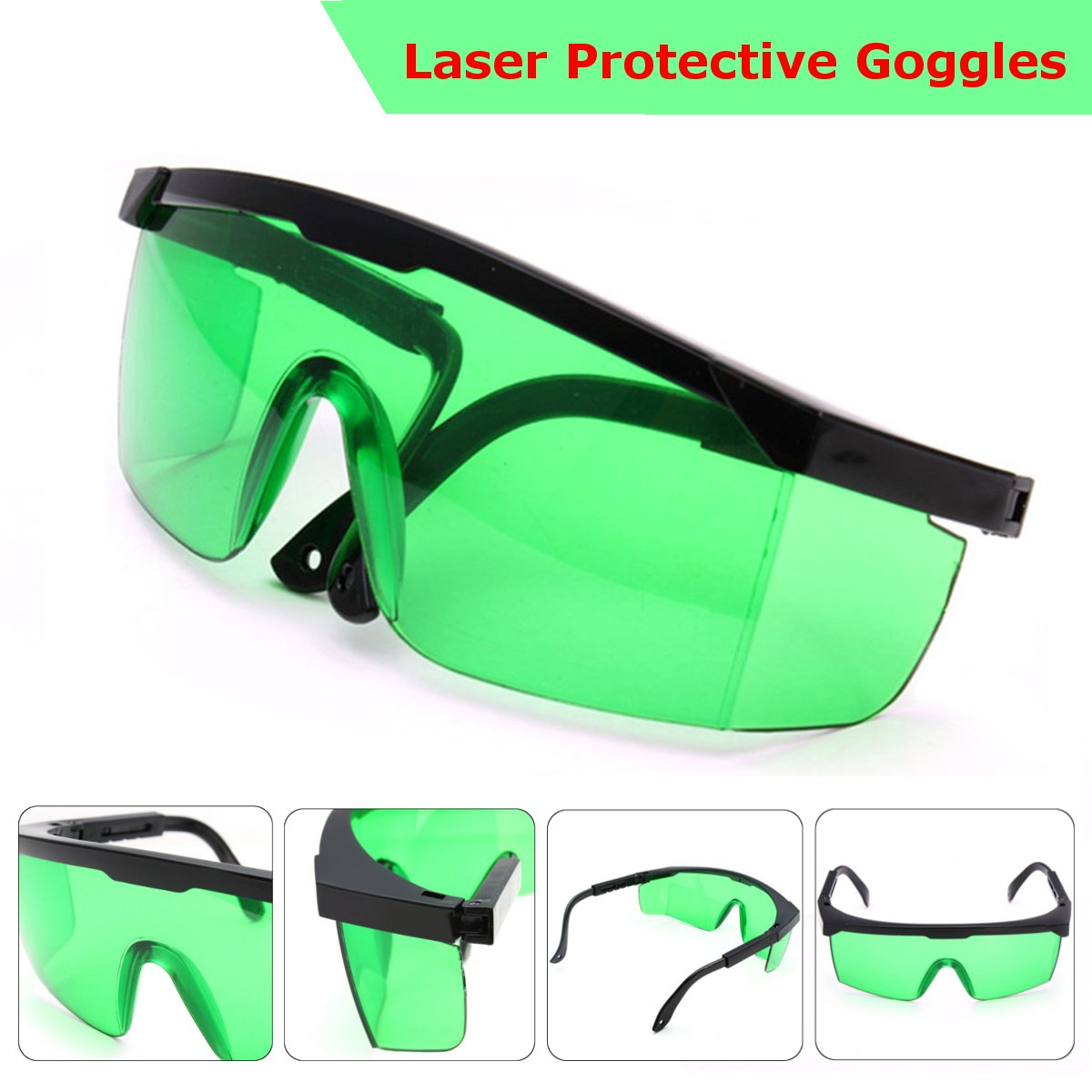 Лазерные защитные очки для фиолетового/синего цвета 200-450нм поглощающие круглые защитные очки лазерные защитные очки