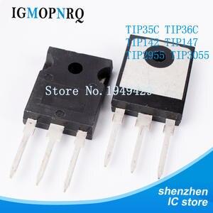 5PCS/lot TIP35C TIP36C TIP142 TIP147 TIP2955 TIP3055 TO-247 NPN New and Original IC
