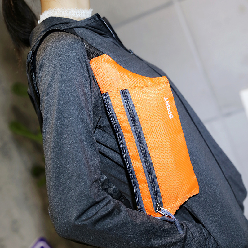 Outdoor Wallet Men's Women's Running Sports Mobile Phone Bag Light And Tight Anti-theft Pocket Travel Wallet