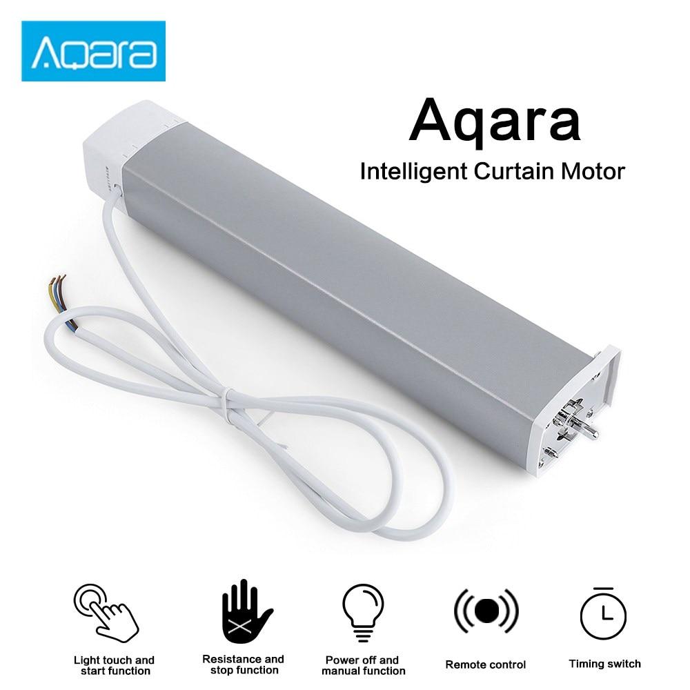 Aqara Zigbee Smart Curtain Motor Intelligent Wifi Smart Home Device Wireless Remote Controller Mi Home APP Automatic Control