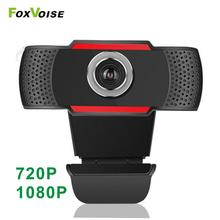 Webcam 1080P Computer Notebook Gamer Full-Hd Laptop Usb Microphone Youtube 720P for PC