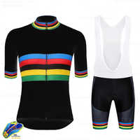 Conjunto de Camisa de ciclismo 2020 Pro Team UCI MTB Ciclismo Bib Shorts de Ciclismo Roupas Bicicleta Jerseys Definir Ropa Hombre Ciclismo kits