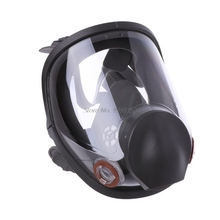 Full Face Facepiece Respirator Kit Painting Spraying Dust Silicone Gas Mask Dropship