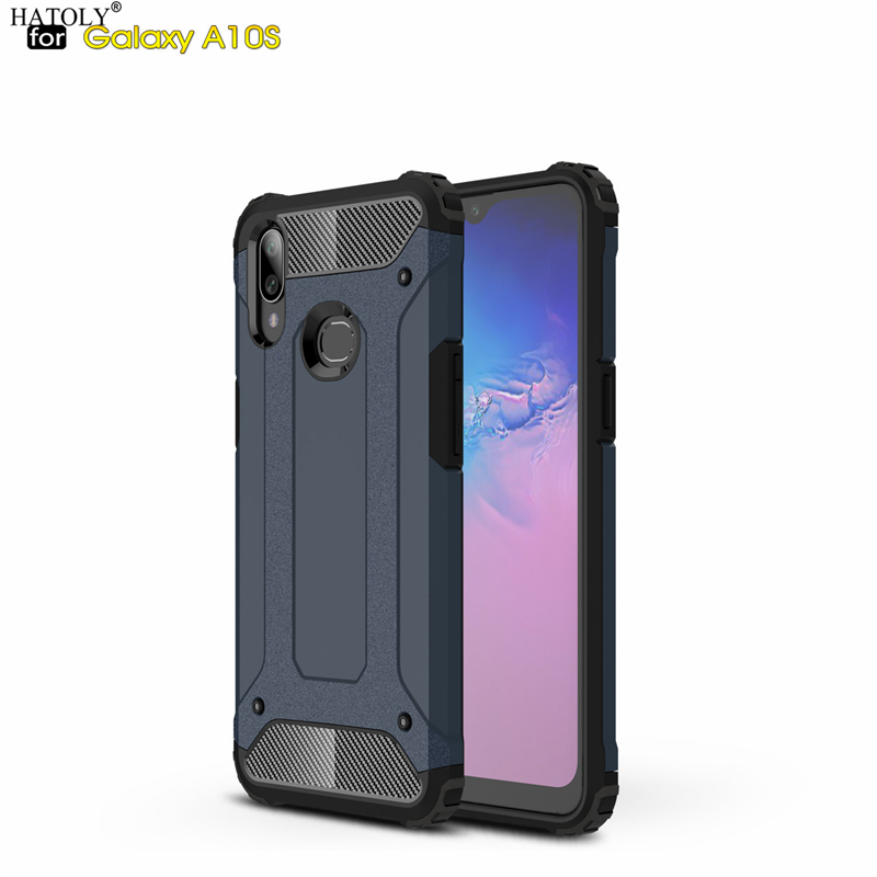 For <font><b>Coque</b></font> <font><b>Samsung</b></font> Galaxy A10s Case Heavy Armor Slim Hard Rubber Tough Cover Silicone Phone Cases for <font><b>Samsung</b></font> A10s <font><b>A10</b></font> s A107F/DS image
