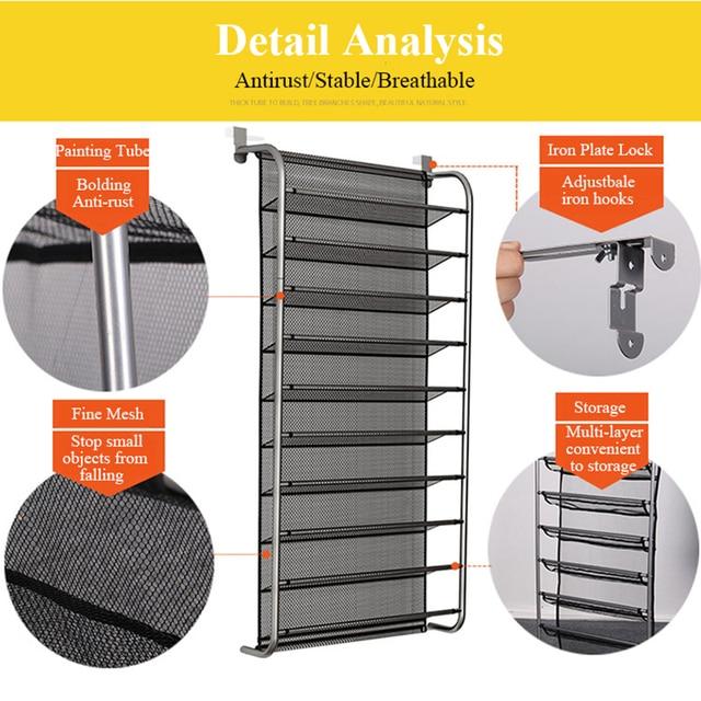 MultiLayer Wall-mounted Shoe Rack  2